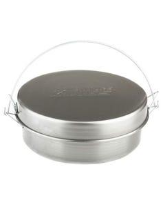 "Bedourie Camp Oven   12""   Spun Steel   Oven, Frying Pan, Hanging Pan & Boiling Pot"