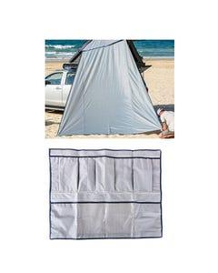 Kings Grand Tourer Alloy Rooftop Tent Internal Storage Pocket + Awning Wall (for Grand Tourer RTT)