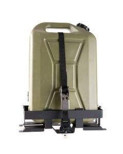 Kings Aluminium Platform Roofrack Jerry Can Holder | Suits 10L & 20L Jerrycans | Fits Kings Platform Roofracks | Inc. Mounting Strap