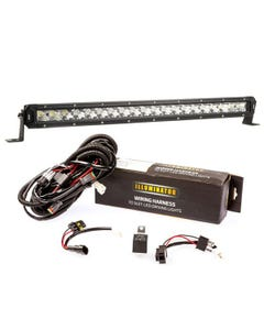 "Kings 20"" LETHAL MKIII Slim Line LED Light Bar + Bar Wiring Harness"