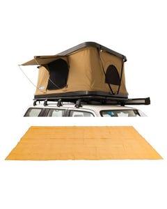Kings Kwiky MKII Hard Shell Rooftop Tent + Mesh Flooring 6m x 3m