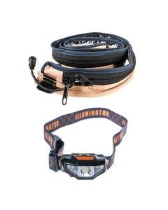Illuminator MAX LED Strip Light + Illuminator LED Head Torch