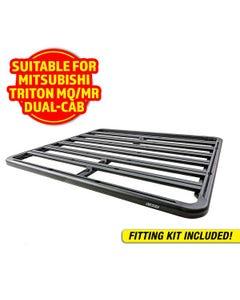 Adventure Kings Aluminium Platform Roof Rack Suitable for Mitsubishi Triton MQ-MR Dual-Cab 2015+