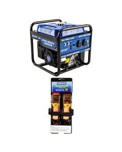 Adventure Kings 3.0kVA Inverter Generator + Hercules Heavy Duty 3m Ratchet Strap (2 pack)