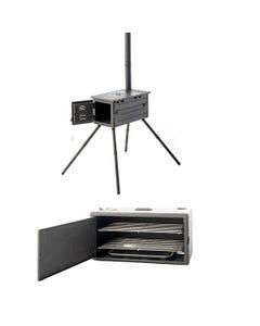 Premium Camp Oven Stove + Smoker