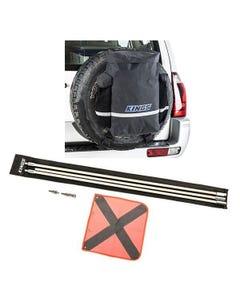 Kings Premium 48L Dirty Gear Bag + 3m Sand Safety Flag