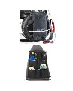 Kings Premium 48L Dirty Gear Bag + Car Seat Organiser