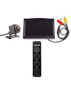 """Adventure Kings Reverse Camera Kit with 5"""" Screen + 12V Accessory Panel"""