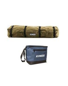 Kings Roof Top Canvas Bag + Cooler Bag
