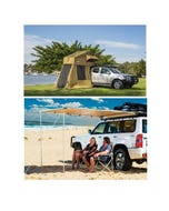Adventure Kings Roof Top Tent + 4-man Annex + Awning 2x2.5m
