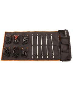 Adventure Kings 5 Bar Camp Light Kit | LED | Dimmers | Velcro & Magnet