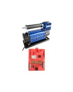 Thumper Air Compressor MKII + Tyre Repair Kit
