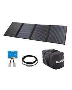 Adventure Kings 120W Solar Blanket with MPPT Regulator + Heavy-Duty Duffle Bag