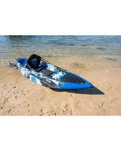 KINGS Single Seat Kayak ESSENTIAL Package   Includes 2.85m Hull, Standard Paddle & Padded Seat