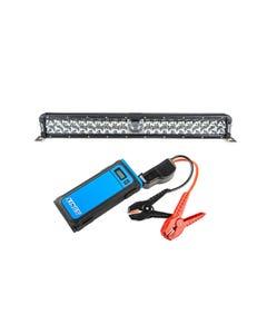 """Adventure Kings 24"""" Laser Light Bar + 1000A Lithium Jump Starter"""