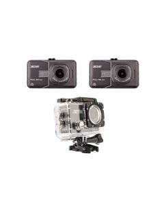 2x Adventure Kings Dash Camera + Action Camera