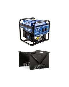 Adventure Kings 3.0kVA Inverter Generator + Portable Steel Fire Pit