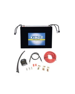 Adventure Kings AGM Deep Cycle Battery 98AH + Dual Battery System