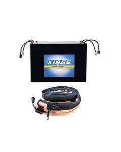 Adventure Kings AGM Deep Cycle Battery 98AH + LED Strip Light