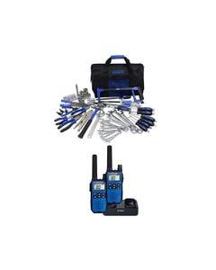 Adventure Kings Tool Kit - Ultimate Bush Mechanic + Oricom Handheld UHF CB Radio Twin Pack - UHF2190