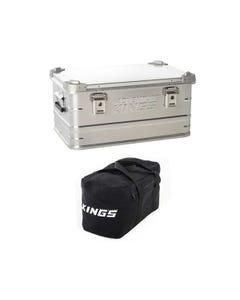 50L Aluminium Storage Box + 40L Duffle Bag