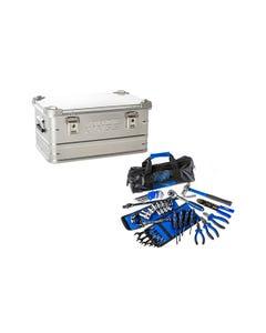 50L Aluminium Storage Box + Essential Bush Mechanic Toolkit