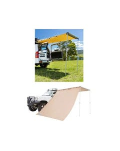 Adventure Kings Rear Awning 1.4 x 2m + Awning Side Wall