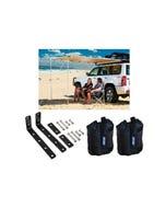 Adventure Kings Awning 2x2.5m + Awning Mounting Brackets (Pair) + Adventure Kings Sand Bags (pair)