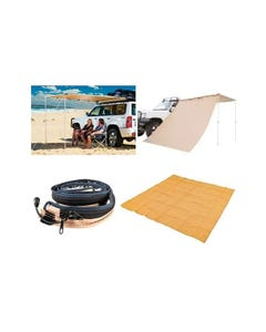 Supa Awning Starter Pack with 2x2.5m Awning