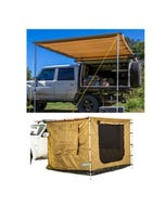 Adventure Kings Awning 2x3m + Adventure Kings 2 x 3m Awning Tent