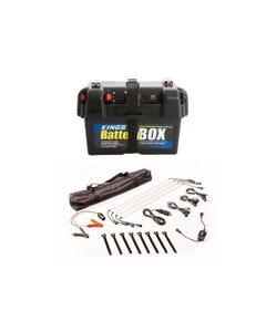 Adventure Kings Battery Box + Illuminator 4 Bar Camp Light Kit