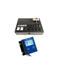Kings 12V Battery Monitor + 12V Control Box