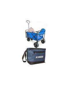Adventure Kings Collapsible Cart + Cooler Bag