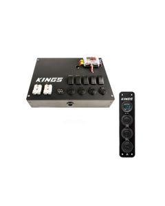 12V Control Box + 12V Accessory Panel