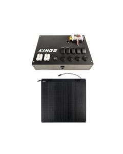 12v Control Box + Adventure Kings 110W Semi-Flexible Solar Panel