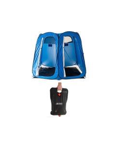 Adventure Kings Double Ensuite/Shower Tent + Solar Shower