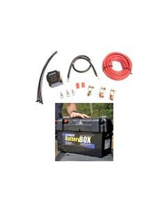 Adventure Kings Dual Battery System + Maxi Battery Box