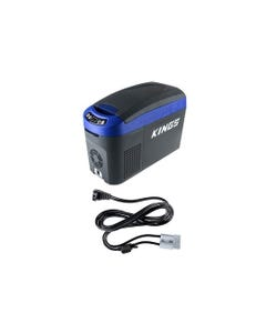 15L Centre Console Fridge/Freezer + Kings 1.8m 12v Fridge Cable