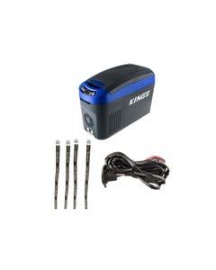Adventure Kings 15L Centre Console Fridge/Freezer + 12V Fridge Wiring Kit + Fridge Tie Down Straps (4 pack)