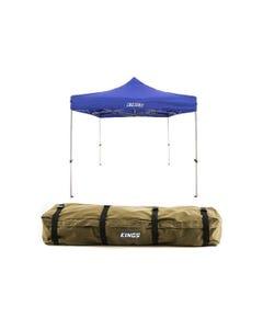 Adventure Kings - Gazebo 3m x 3m + Roof Top Canvas Bag