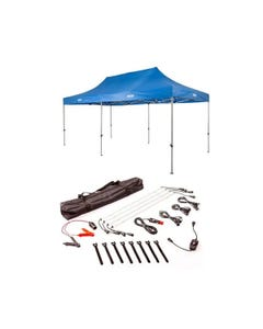 Adventure Kings - Gazebo 6m x 3m + Illuminator 4 Bar Camp Light Kit
