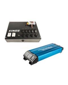 Kings 3000W Pure Sine Wave Inverter + 12V Control Box
