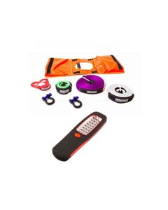 Hercules Essential Nylon Recovery Kit + Illuminator 24 LED Work Light
