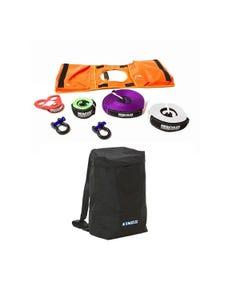 Hercules Essential Nylon Recovery Kit + Adventure Kings Dirty Gear Bag