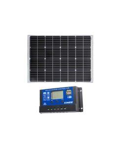 Adventure Kings 110w Fixed Solar Panel + Adventure Kings PWM Regulator