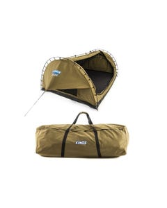 Adventure Kings 'Big Daddy' Deluxe Double Swag + Swag Canvas Bag