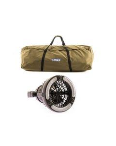 Swag Canvas Bag + 2in1 LED Light & Fan