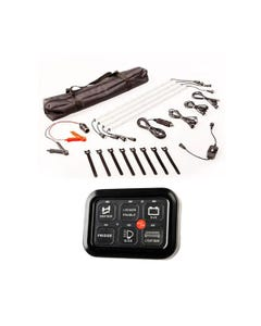 TOUCH PAD SWITCH PANEL + 4-BAR CAMPLIGHT KIT