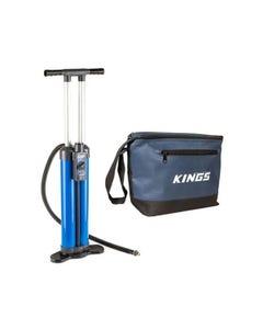 Triple-Action Inflatable Paddleboard Pump + Cooler Bag