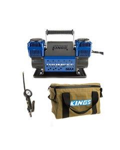 Thumper Max Dual Air Compressor + Kings 3in1 Ultimate Air Tool + Canvas Thumper Bag